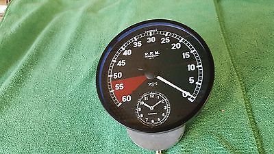SMITHS JAGUAR XK120 REV COUNTER and CLOCK RESTORED X.49035/5
