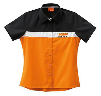 Official KTM Powerwear 3PW1386604 GIRLS TEAM SHIRT L With Free Shipping