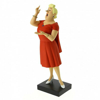 Tintin, Castafiore Resin Statue by Moulinsart, Limited Edition (NEW)