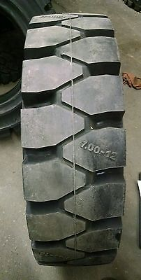 New 7.00-12 GS-SOLID FORKLIFT TIRE 700 12 7.00x12 TOYOTA YALE CLARK NISSAN MITCO