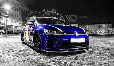 Cup Spoilerlippe Front Diffusor VW Golf VII R