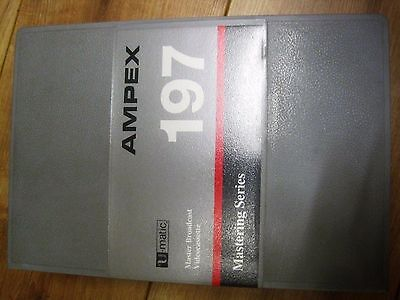 Ampex 197 Series Bca 30 Umatic Video Cassette Tape