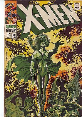 X-MEN #50 STERANKO COVER & ART VF+/NMINT 9.0 MARVEL (1968) 1st Polaris Costume