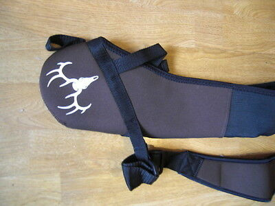 New Neoprene Bow Sling Compound Archery Belt Bow Holster Hunting Carrying bag