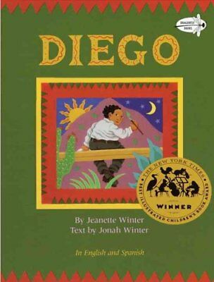Diego by Jonah Winter 9780679856177 (Paperback, 1994)