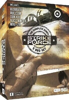 Strike Force - The Complete Series (5 DVD Boxset)HARRIER: MiG-29: SUKHOI: BUCCAN