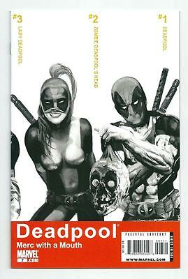 Deadpool : Merc with a Mouth #7, 1st Lady Deadpool, Trainspotting Cover.