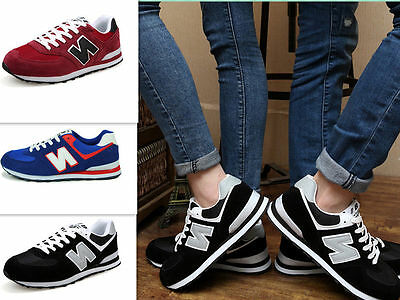 Fashion Mens Women TRAINERS Flats Sneakers Running Leisure sport Casual Shoes