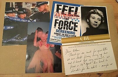 "2006 Tv Memorabilia.""feel The Force""photos,etc.michelle Gomez,eileen Essell..."