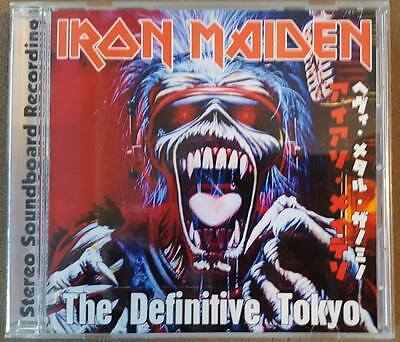 Iron Maiden - The Definitive Tokyo CD Live SB (5/24/1981) - Penguin label