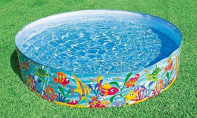 Garden Pool Kids Family Swimming Outdoor Children Paddling Patio Water Fun 6'