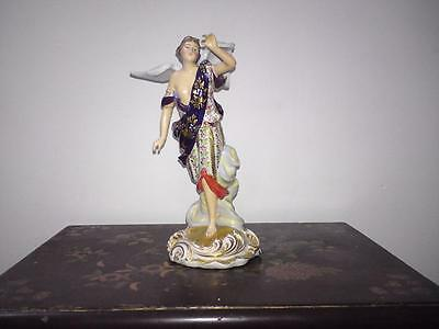 19thc French Paris Porcelain Edmé Samson Copy Derby figure winged goddess