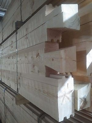 30' x 50' Log Cabin Package- Hewed 6 x 12 Chink Logs w/Dovetails $16,500.00