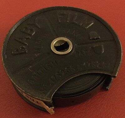 9.5mm PATHE BABY FILM REEL No.457 THE LOSS OF A SUBMARINE.1920's Film