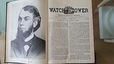 WATCHTOWER REPRINTS  Volume 2 Original 1888 1895 Nice Condition Russell IBSA