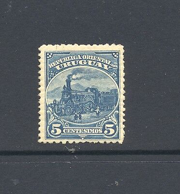 Uruguay 1899 SG 221a Locomotive Stirling Railway MH