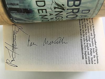 """""""The DaVinci Code"""" Book by Dan Brown, Signed by Ian McKellen and Ron Howard"""