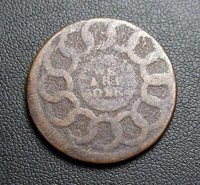 1787 WITH POINTED RAYS FUGIO Cent Large Cent Early Copper *RARE VARIETY*