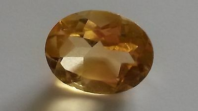 Loose natural citrine 2.3ct oval