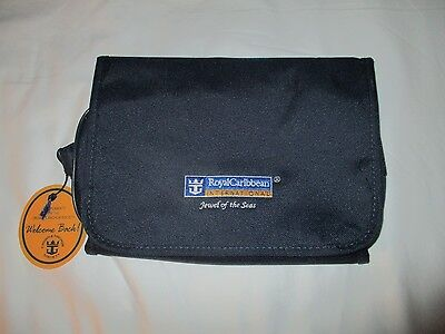 ROYAL CARIBBEAN JEWEL of the SEAS Cruise Line travel bag make up kit NWT