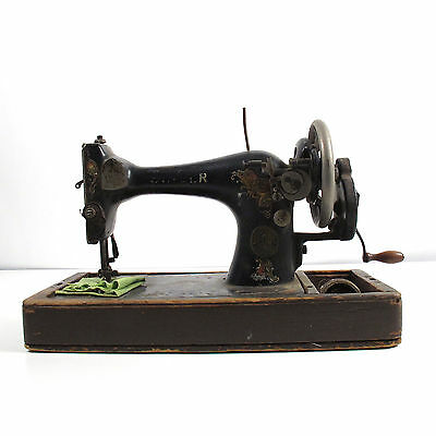 Antique Singer Hand Crank Sewing Machine Not Working AS IS Restoration Project