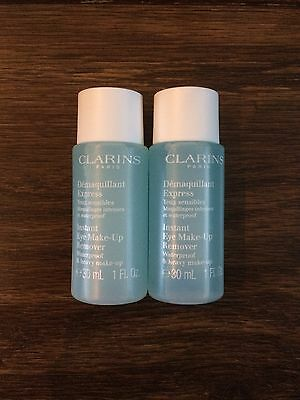 Clarins Instant Eye Make-Up Remover 30ml X2
