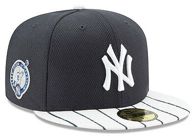 New Era 59Fifty  Derek Jeter NY Yankees Jersey Retirement Pinstripe Cap
