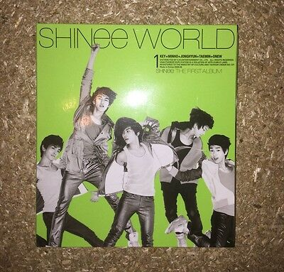 Shinee Shinee World Album Kpop