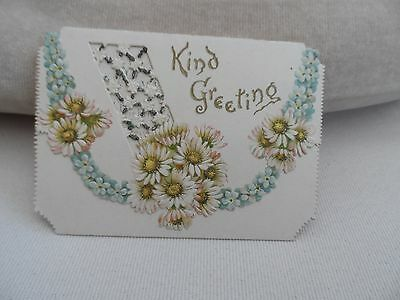 happy birthday wishes greetings card victorian with flowers