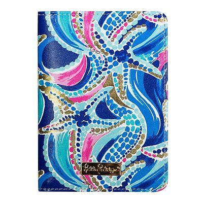 LILLY PULITZER - Passport Cover - Ocean Jewels