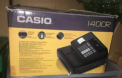 Casio 140CR POS Point of Sale Cash Register with Box Wedding Catering