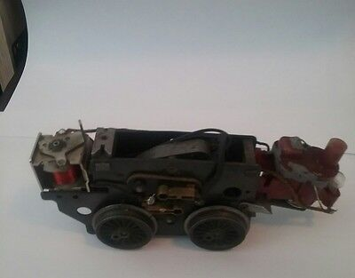 Lionel motor w/e-unite, smokes, runs, see other listings sold as pictured,