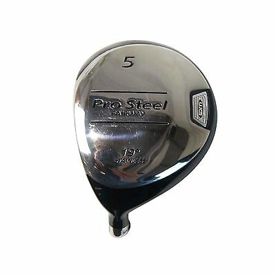 Distance Master Pro Steel Golf Club Head - 5 Wood / Left Hand