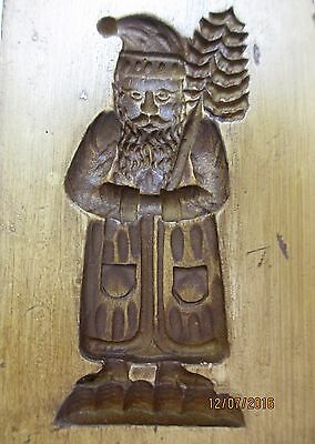 Springerle Speculaas Butter Cookie Paper Casting Stamp Press Mold  SANTA W/ TREE