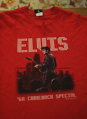 Elvis Presley 1968 Comeback Special t-shirt Direct From Graceland Large 2005 Red