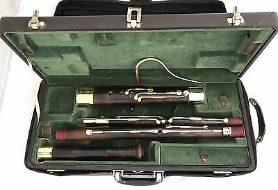 Baroque Historical French Bassoon Cuvillier aS.Omer No.1- 10 keys 440Hz Restored