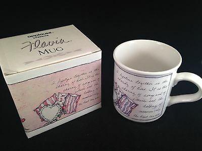 NEW In Box - Flavia Mug With Quotation