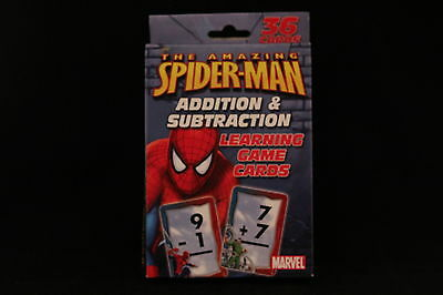 Spiderman Addition / Subtraction Flash Cards
