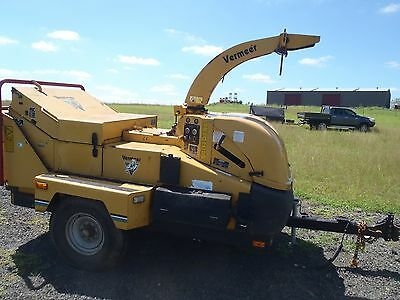 vermeer BC1400 wood chipper with smartfeed cat motor new