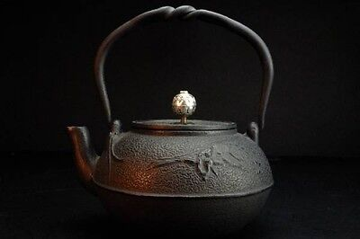Japanese Iron Tea Kettle Tetsubin teapot Tea ceremony equipment 2 铁壶 鐵壺
