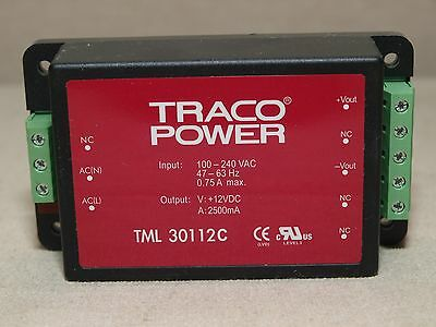 Traco Power TML 30112C Encapsulated Power Supply AC/DC 30W – NEW