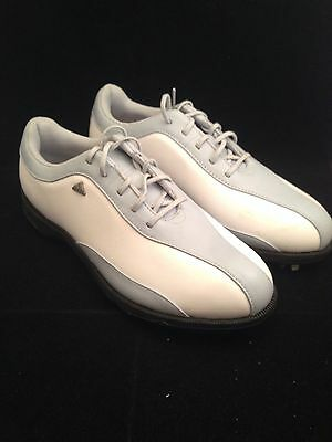 Adidas Womens Blue And White Golf Shoes - Size 7