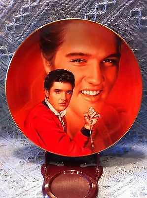 "Nos 1993 Delphi Elvis Presley Hit Parade ""wear My Ring Around Your Neck""  Plate"