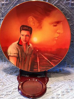 "Nos 1993 Delphi Elvis Presley Hit Parade ""mystery Train""  Plate"