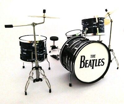 "Ludwig ""The Beatles"" - Batteria in Miniatura - Miniature Drum Set - Mini Bateria"