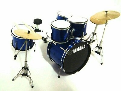 Yamaha Drum Set - Batteria in Miniatura - Miniature Drum Set - Mini Bateria