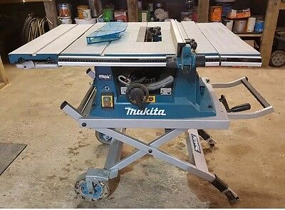 Makita MLT100 110v 260mm Table Saw and Stand