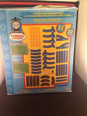 Thomas The Tank Engine Track Expansion Pack - Complete Set (52 Pieces)
