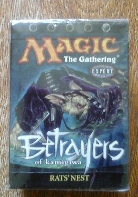 Betrayers Of Kamigawa Rat,s Nest  Deck Sealed Canada Only
