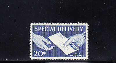 US Scott #E20, 20c Special Delivery Letter in Hand Stamp, MNH